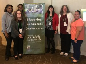 California College Pathways Blueprint for Success Conference in Los Angeles. October 2019