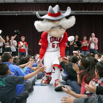 UNLV takes its Adopt-A-School program to Gragson Elementary School
