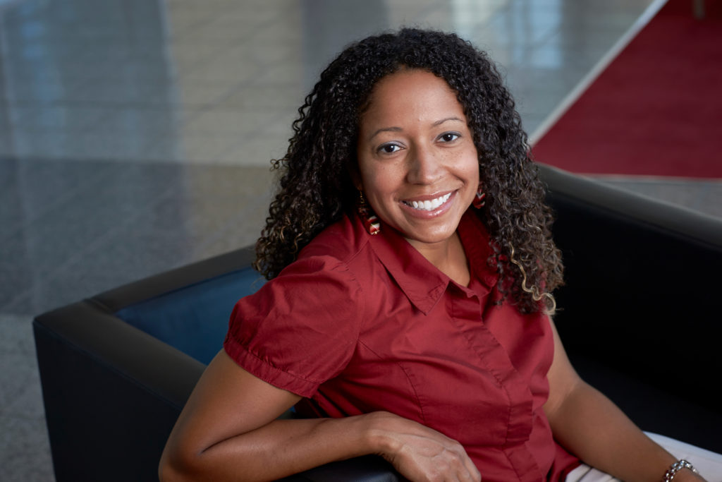 UNLV Admissions Counselor Kamisha Johnson
