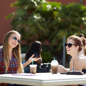 Students enjoy the start of the new semester at UNLV