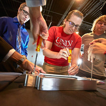 UNLV Engineering holds its annual Fred and Harriet Cox Senior Design competition