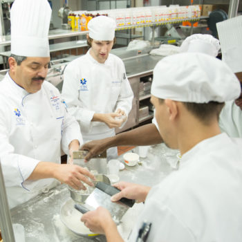 Students at CSN prepare catering