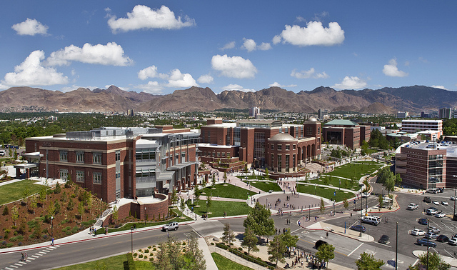 A view of buildings at UNR