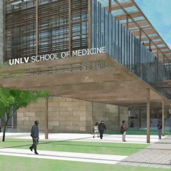 UNLV School of Medicine Render