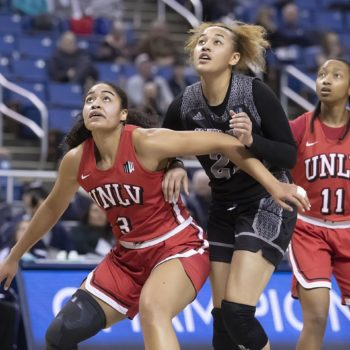 UNR versus UNLV Women's Basketball By Nick Beaton