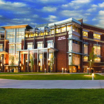 A view of the Joe Crowley Student Union at UNR
