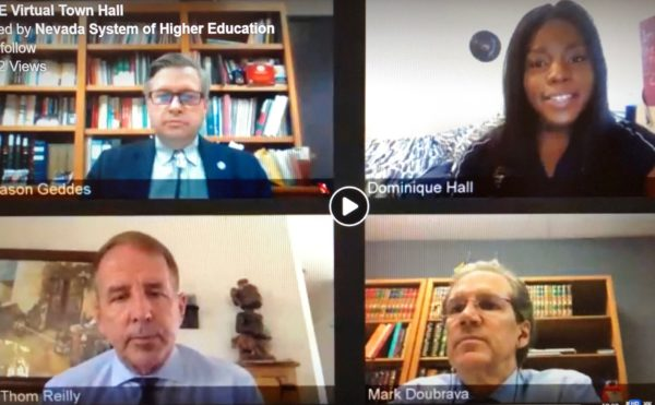 NSHE Virtual Town Hall photo from May 14, 2020
