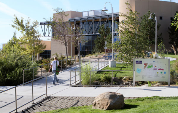 The Western Nevada College campus in Carson City, Nev