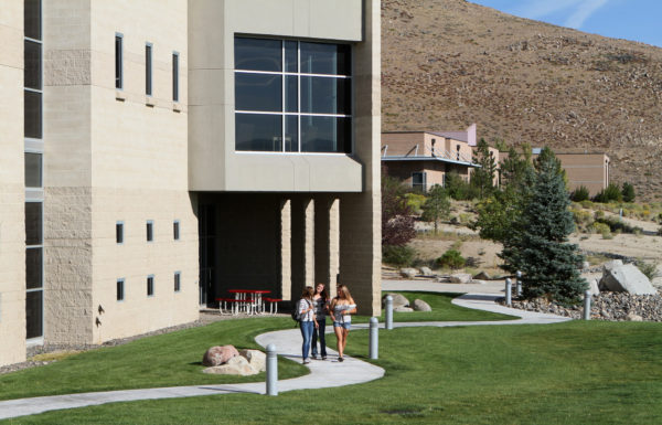 Western Nevada College campus in Carson City, Nev
