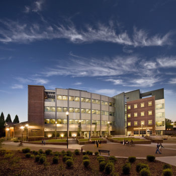 The Davidson Math and Science building at UNR