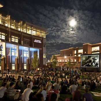 UNR students attend movie night